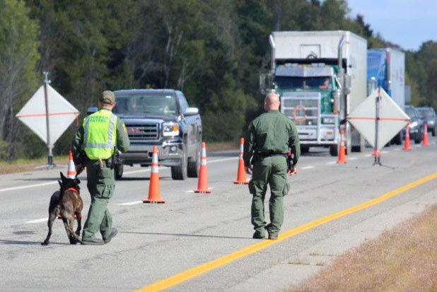 Border patrol agents are stopping people on highways in New England to check their citizenship