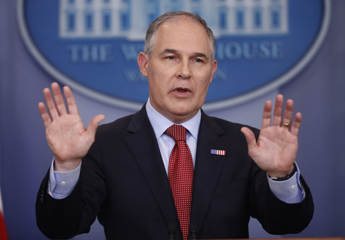 EPA accelerates purge of scientists