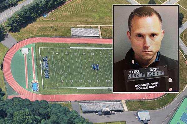 Mystery pooper at N.J. high school's track turned out to be superintendent