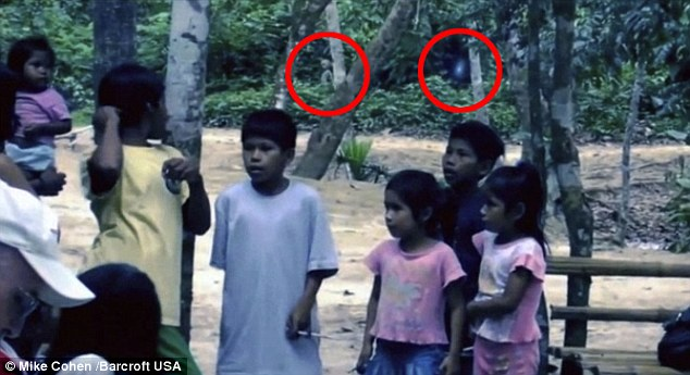 Is this creature pictured in the Amazon jungle a visitor from outer-space?