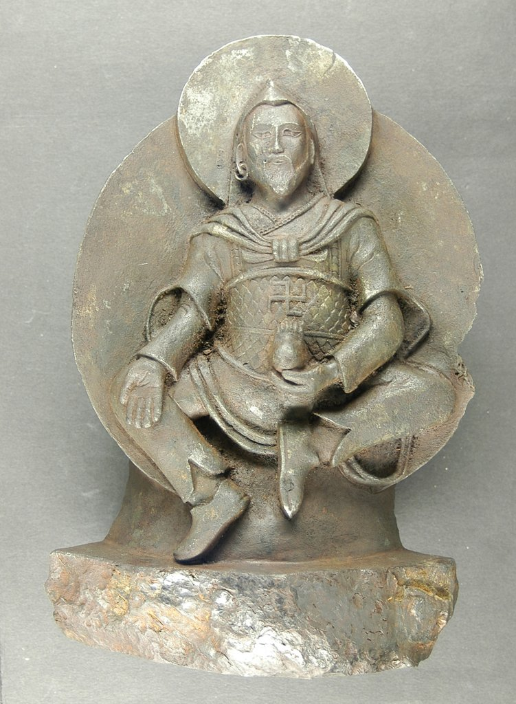 Buddhist statue found by Nazis made from meteorite