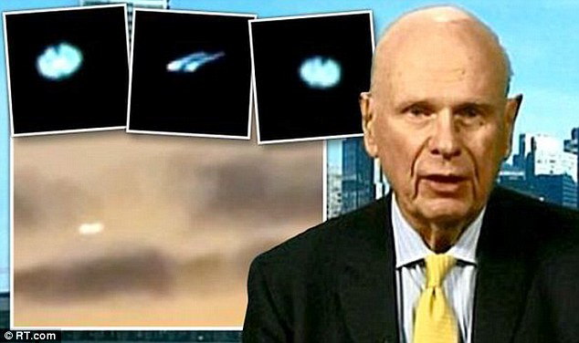 Governments are HIDING aliens, claims former defence minister: Paul Hellyer urges world leaders to reveal 'secret files'