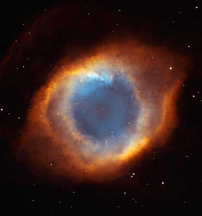 Iridescent Glory of Helix Nebula