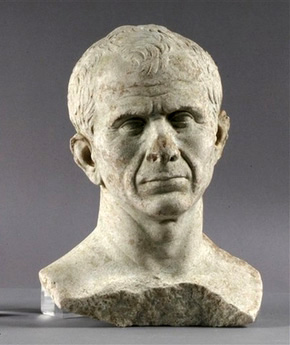 Divers find Caesar bust that may date to 46 B.C.