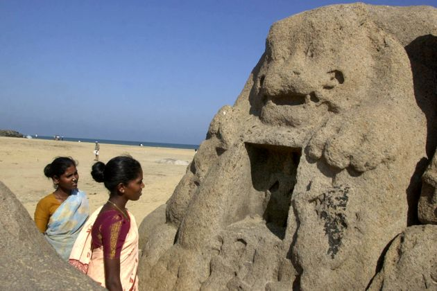 Tsunami Reveals Ancient Ruins in India