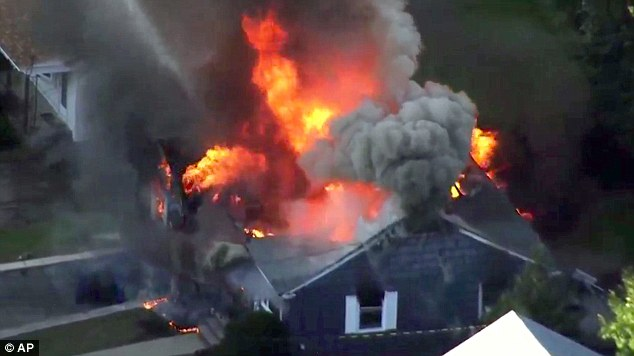 Major gas line problem causes 70 EXPLOSIONS in homes outside of Boston