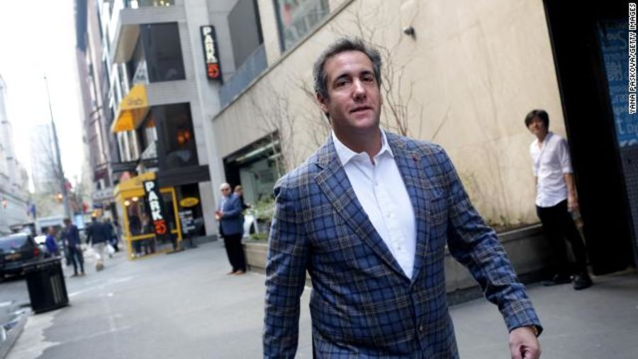 Michael Cohen surrenders to the FBI