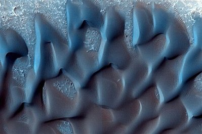 Wind and Snow Do Strange Things on Mars