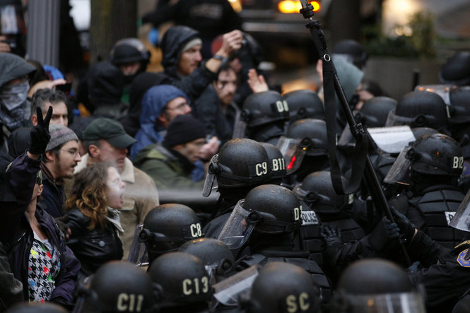 Occupy Portland Pepper Spray