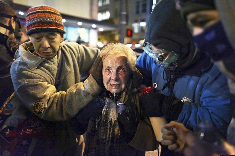 84 Year Old Pepper Sprayed by Seattle PD