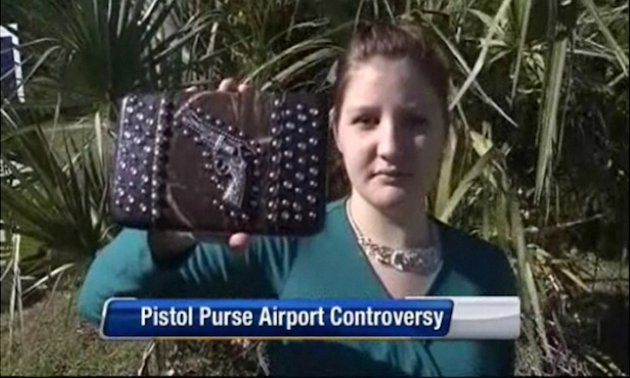 Florida teen detained by TSA for design on her purse