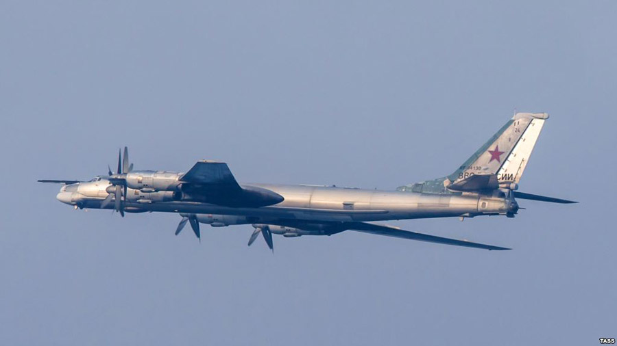 U.S. Fighter Jets Intercept Russian Bombers off Alaskan Coast