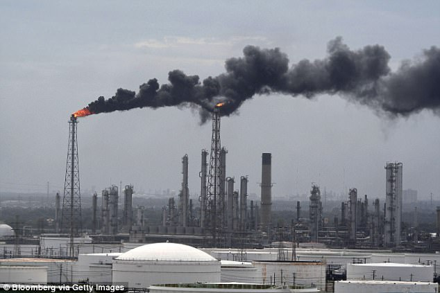 Shell Oil Refinery