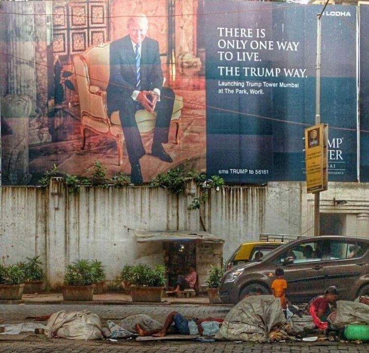 This Photo Of A Trump Billboard In Mumbai Is Real