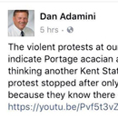 Republican calls for 'another Kent State' to deal with campus protesters