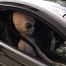 Photo: Police: Alien pulled over in Atlanta