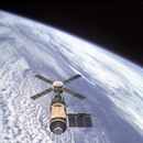Skylab and Earth