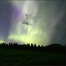 Photo: Northern Lights flow on celestial magnetic ropes