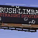 Photo: Rush Limbaugh's 'Straight Shooter' Tucson Billboard Is Removed