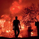 Photo: Wildfires Burn Out of Control Across Northern California; 15 Are Dead
