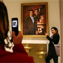 Photo: Colbert portrait hangs at Smithsonian