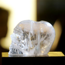 Photo: Crystal skull on display in Sedona