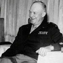 Photo: President Eisenhower had three secret meetings with aliens, former Pentagon consultant claims