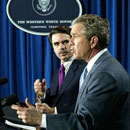 Photo: Bush threatened nations that did not back Iraq war