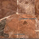 Photo: Triangle UFO on Google Earth?