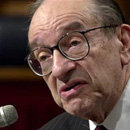 Photo: Greenspan denies blame for crisis, admits 'flaw'