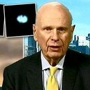 Photo: Governments are HIDING aliens, claims former defence minister: Paul Hellyer urges world leaders to reveal 'secret files'