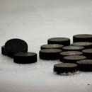 Photo: University issues hockey pucks to defend against active shooters
