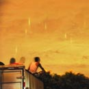 Photo: 'Rain of luminous beams' appears in the sky in China