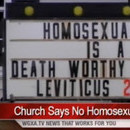 Photo: Georgia church sign calls for death to gay people
