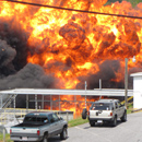Photo: Explosion at North Carolina chemical plant