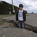Photo: New Zealand earthquake rips a new fault line across the world