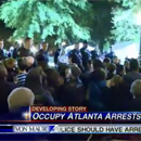 Photo: Woodruff Park remained closed Wednesday after Occupy Atlanta evicted overnight