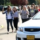 Gunman, 20, killed after mass shooting at Oregon college that left up to 13 dead and 20 injured