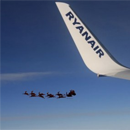 Photo: Santa-shaped UFO spotted by pilot