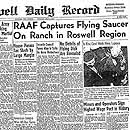 """RAAF Captures Flying Saucer on Ranch in Rosw"
