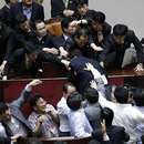 Photo: Brawl breaks out in South Korean parliament