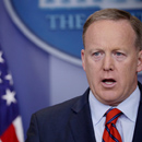 Photo: Spicer: Hitler 'didn't even sink to using chemical weapons,' although he sent Jews to 'the Holocaust center'