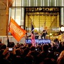 Anti-Trump Protests in New York City