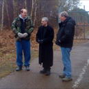 Photo: Rendlesham Forest UFO airmen at Woodbridge event