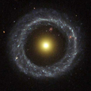 Hubble captures Celestial Wheel within a Wheel